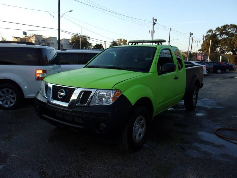 2016 Nissan Frontier for sale at Carfast in Houston TX