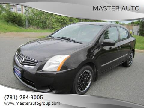 2011 Nissan Sentra for sale at Master Auto in Revere MA