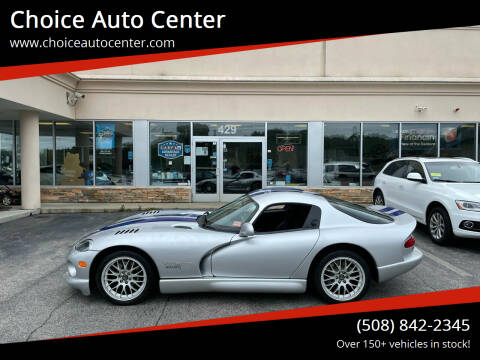 1999 Dodge Viper for sale at Choice Auto Center in Shrewsbury MA
