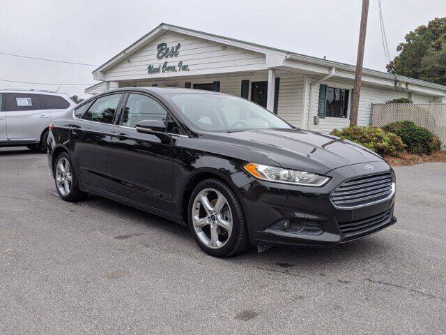 2015 Ford Fusion for sale at Best Used Cars Inc in Mount Olive NC