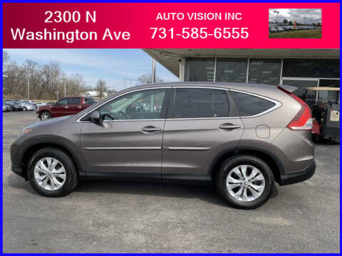 2014 Honda CR-V for sale at Auto Vision Inc. in Brownsville TN