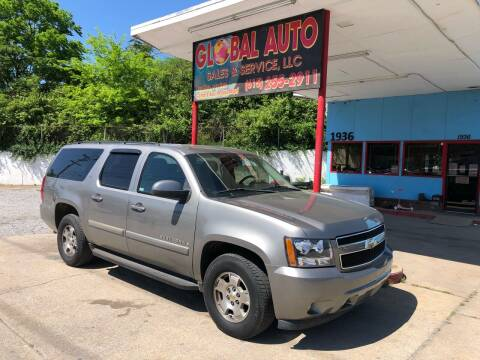 2008 Chevrolet Suburban for sale at Global Auto Sales and Service in Nashville TN
