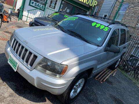 2004 Jeep Grand Cherokee for sale at Barnes Auto Group in Chicago IL
