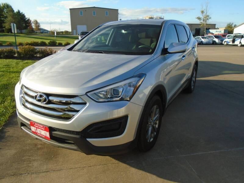 2014 Hyundai Santa Fe Sport for sale at BOBS AUTOMOTIVE INC in Fairfield IA