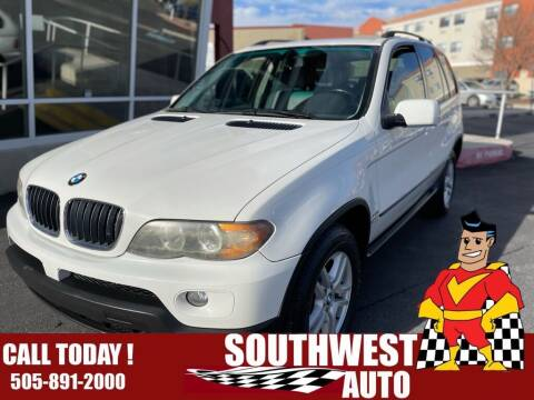 2006 BMW X5 for sale at SOUTHWEST AUTO in Albuquerque NM