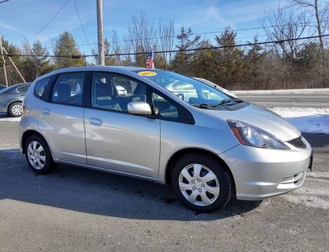 2013 Honda Fit for sale at GREENPORT AUTO in Hudson NY