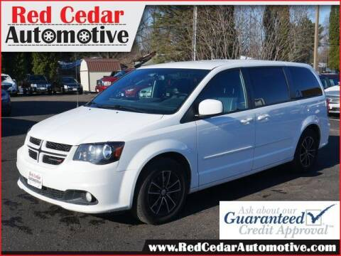 2017 Dodge Grand Caravan for sale at Red Cedar Automotive in Menomonie WI