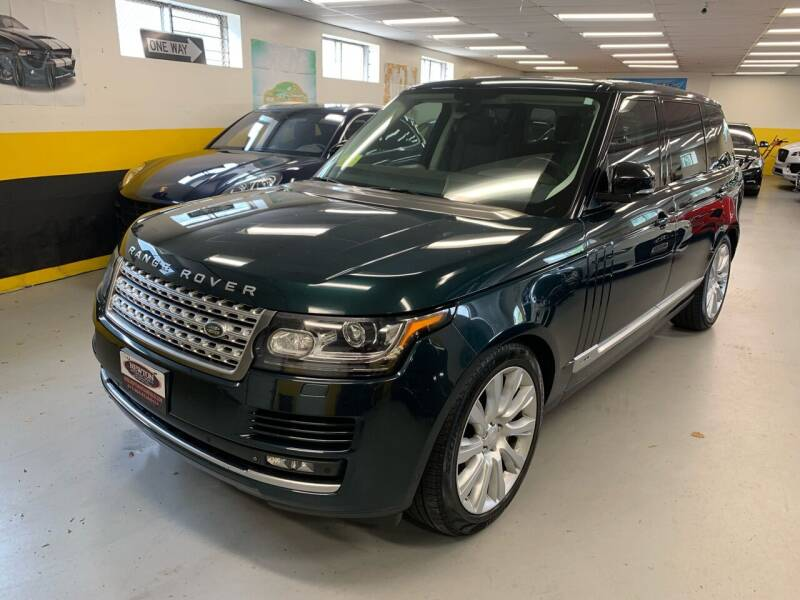 2015 Land Rover Range Rover for sale at Newton Automotive and Sales in Newton MA