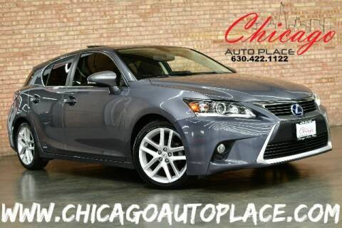 2014 Lexus CT 200h for sale at Chicago Auto Place in Bensenville IL