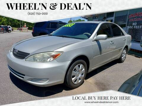 2003 Toyota Camry for sale at Wheel'n & Deal'n in Lenoir NC