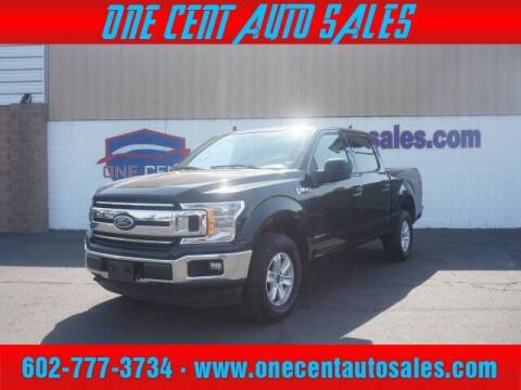 2020 Ford F-150 for sale at One Cent Auto Sales in Glendale AZ