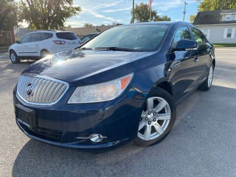 2010 Buick LaCrosse for sale at Total Eclipse Auto Sales & Service in Red Bud IL