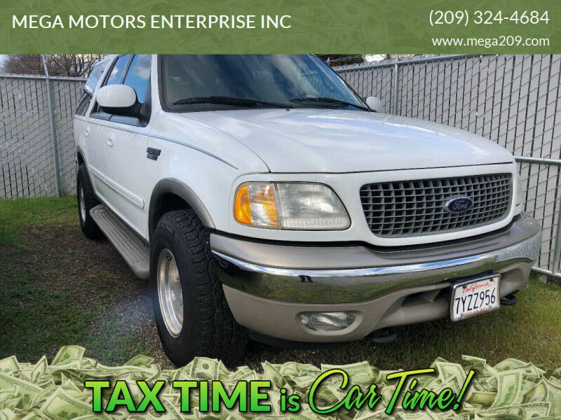 2000 Ford Expedition for sale at MEGA MOTORS ENTERPRISE INC in Modesto CA