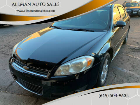 2011 Chevrolet Impala for sale at ALLMAN AUTO SALES in San Diego CA