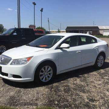 2012 Buick LaCrosse for sale at RAP Automotive in Goshen IN