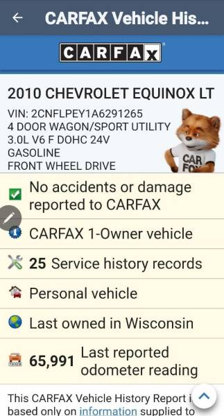 2010 Chevrolet Equinox for sale at Advantage Auto Sales & Imports Inc in Loves Park IL