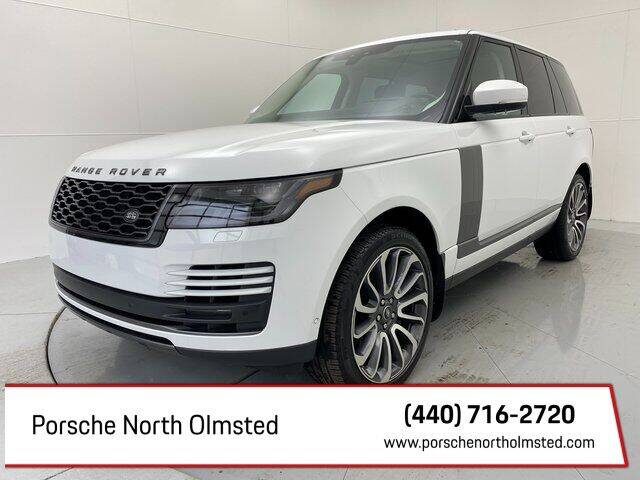 2019 Land Rover Range Rover for sale at Porsche North Olmsted in North Olmsted OH