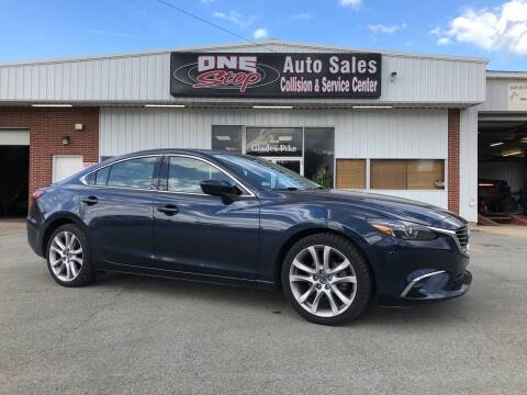 2016 Mazda MAZDA6 for sale at One Stop Auto Sales, Collision & Service Center in Somerset PA