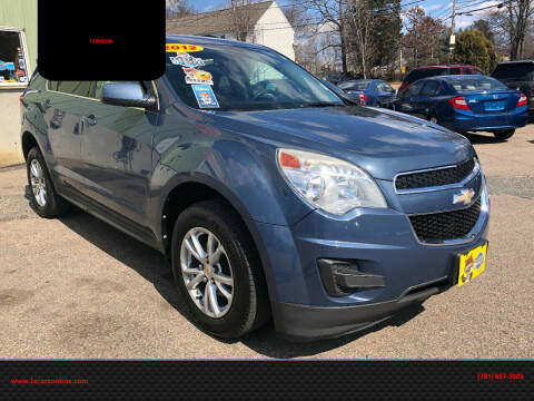 2012 Chevrolet Equinox for sale at L A Used Cars in Abington MA