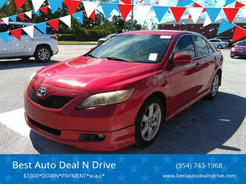 2009 Toyota Camry for sale at Best Auto Deal N Drive in Hollywood FL