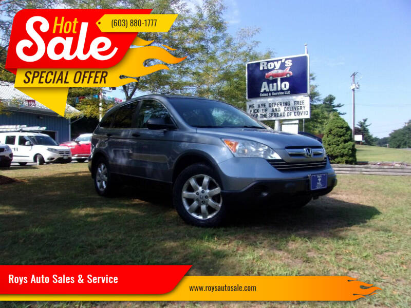 2007 Honda CR-V for sale at Roys Auto Sales & Service in Hudson NH