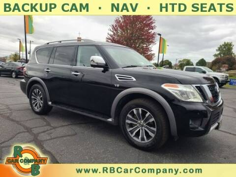 2017 Nissan Armada for sale at R & B Car Company in South Bend IN