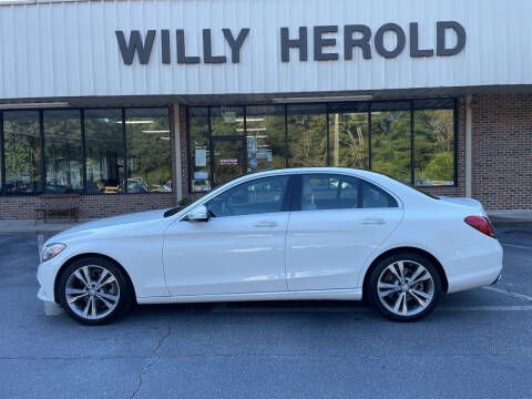 2015 Mercedes-Benz C-Class for sale at Willy Herold Automotive in Columbus GA