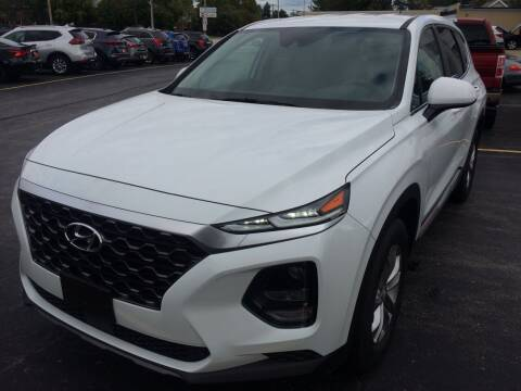 2019 Hyundai Santa Fe for sale at RABIDEAU'S AUTO MART in Green Bay WI