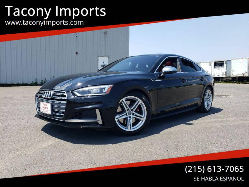2018 Audi S5 Sportback for sale at Tacony Imports in Philadelphia PA