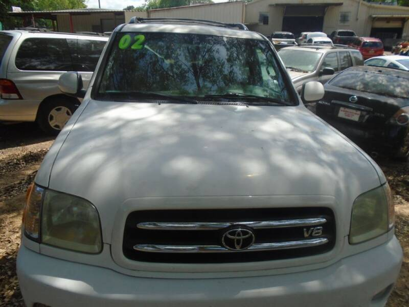 2002 Toyota Sequoia for sale at Alabama Auto Sales in Semmes AL