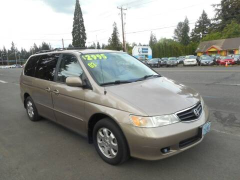 2003 Honda Odyssey for sale at Lino's Autos Inc in Vancouver WA