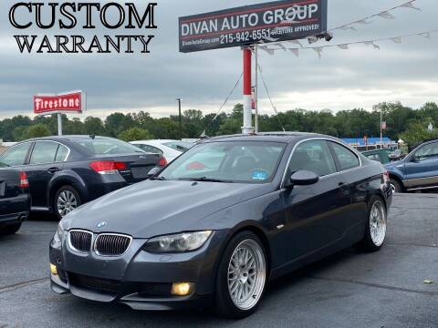 2008 BMW 3 Series for sale at Divan Auto Group in Feasterville PA