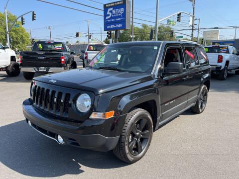 2012 Jeep Patriot for sale at 5 Star Auto Sales in Modesto CA