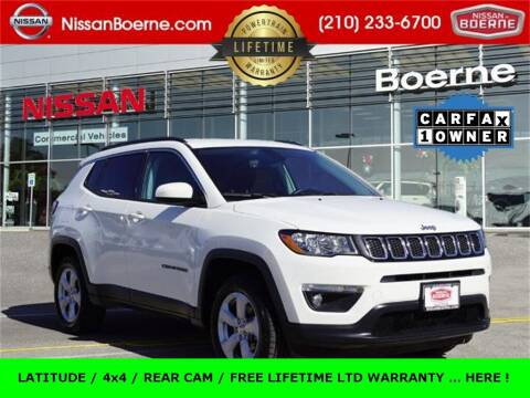 2019 Jeep Compass for sale at Nissan of Boerne in Boerne TX