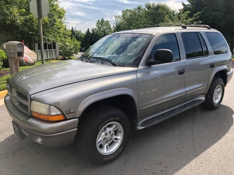 2000 Dodge Durango for sale at Dreams Auto Sales LLC in Leesburg VA