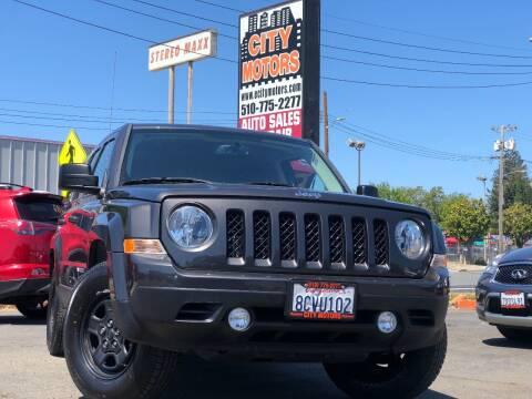 2017 Jeep Patriot for sale at City Motors in Hayward CA
