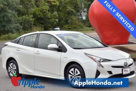 2017 Toyota Prius for sale at APPLE HONDA in Riverhead NY
