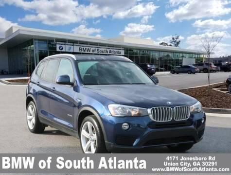 2017 BMW X3 for sale at Carol Benner @ BMW of South Atlanta in Union City GA