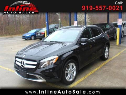 2016 Mercedes-Benz GLA for sale at Inline Auto Sales in Fuquay Varina NC