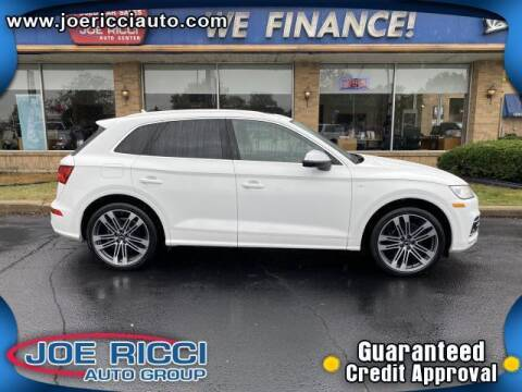 2018 Audi SQ5 for sale at JOE RICCI AUTOMOTIVE in Clinton Township MI