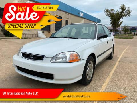 1996 Honda Civic for sale at BJ International Auto LLC in Dallas TX