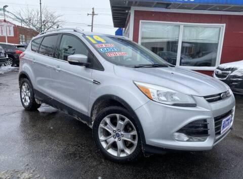 2014 Ford Escape for sale at Latino Motors in Aurora IL