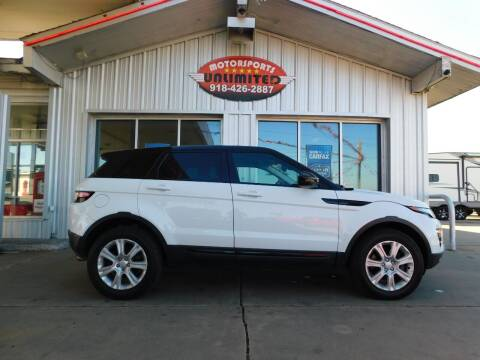 2016 Land Rover Range Rover Evoque for sale at Motorsports Unlimited in McAlester OK