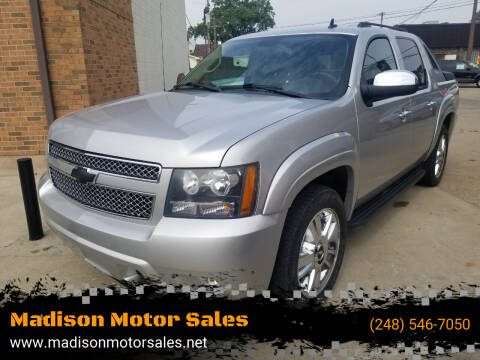 2010 Chevrolet Avalanche for sale at Madison Motor Sales in Madison Heights MI