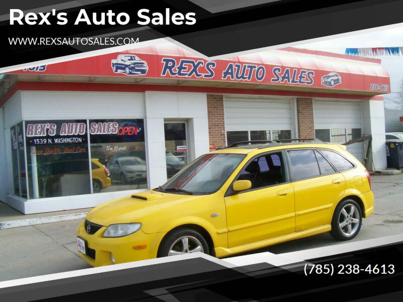 2002 Mazda Protege5 for sale at Rex's Auto Sales in Junction City KS