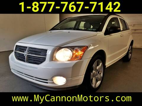 2011 Dodge Caliber for sale at Cannon Motors in Silverdale PA