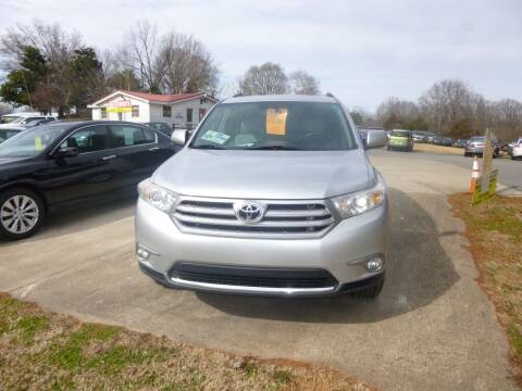 2012 Toyota Highlander for sale at Ed Steibel Imports in Shelby NC