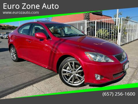 2008 Lexus IS 250 for sale at Euro Zone Auto in Stanton CA