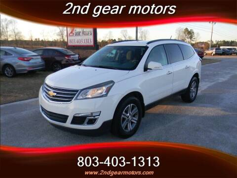 2015 Chevrolet Traverse for sale at 2nd Gear Motors in Lugoff SC