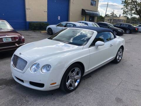 2007 Bentley Continental for sale at Prestigious Euro Cars in Fort Lauderdale FL
